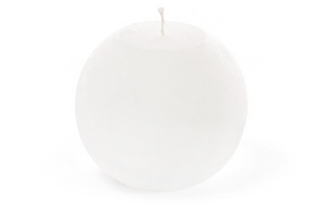 Свеча в форме шара