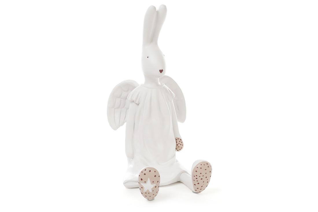 Статуэтка-копилка Кролик-ангелочек