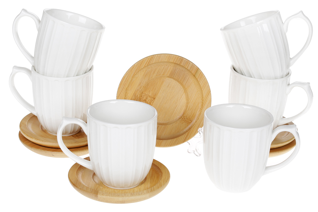 Набор чашек с костерами