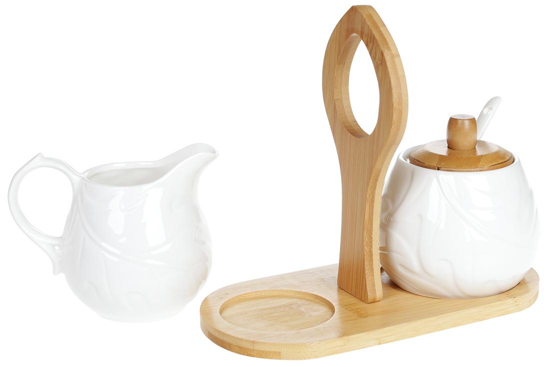 bonadi Набор: сахарница и молочник