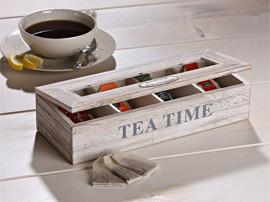 Коробки для чая