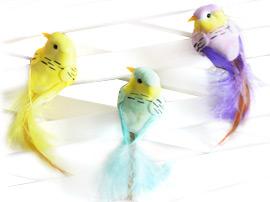 Декоративные птицы и бабочки