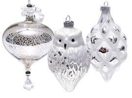 Елочные украшения (стекло)