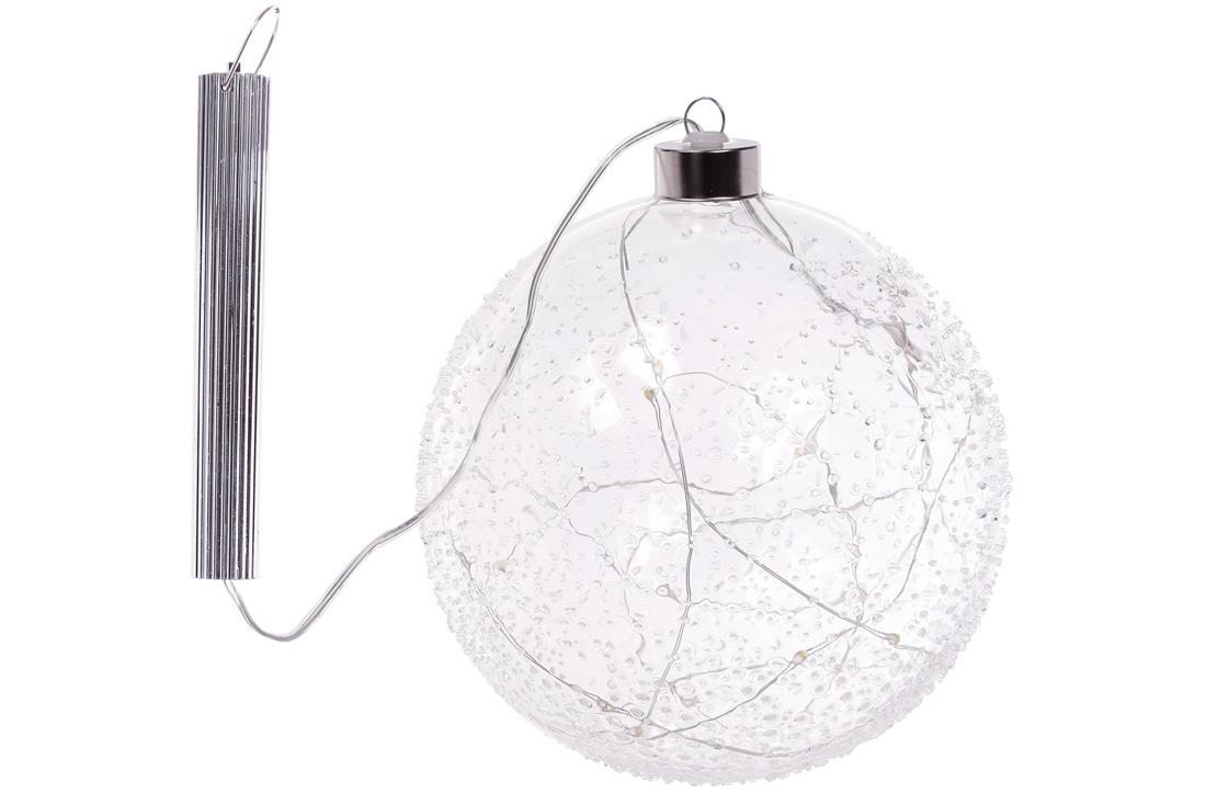 Елочный шар с LED-подсветкой