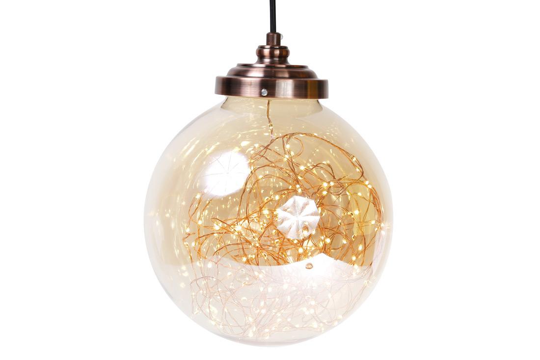 Декоративный шар с LED, постоянное свечение
