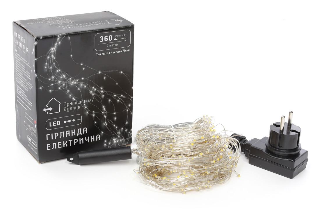 Гирлянда-пучок LED, с функцией мигания