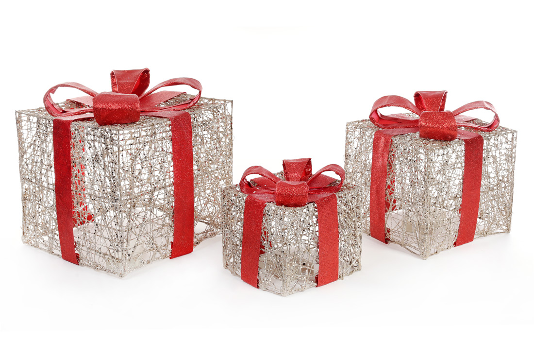 Набор подарков с подсветкой
