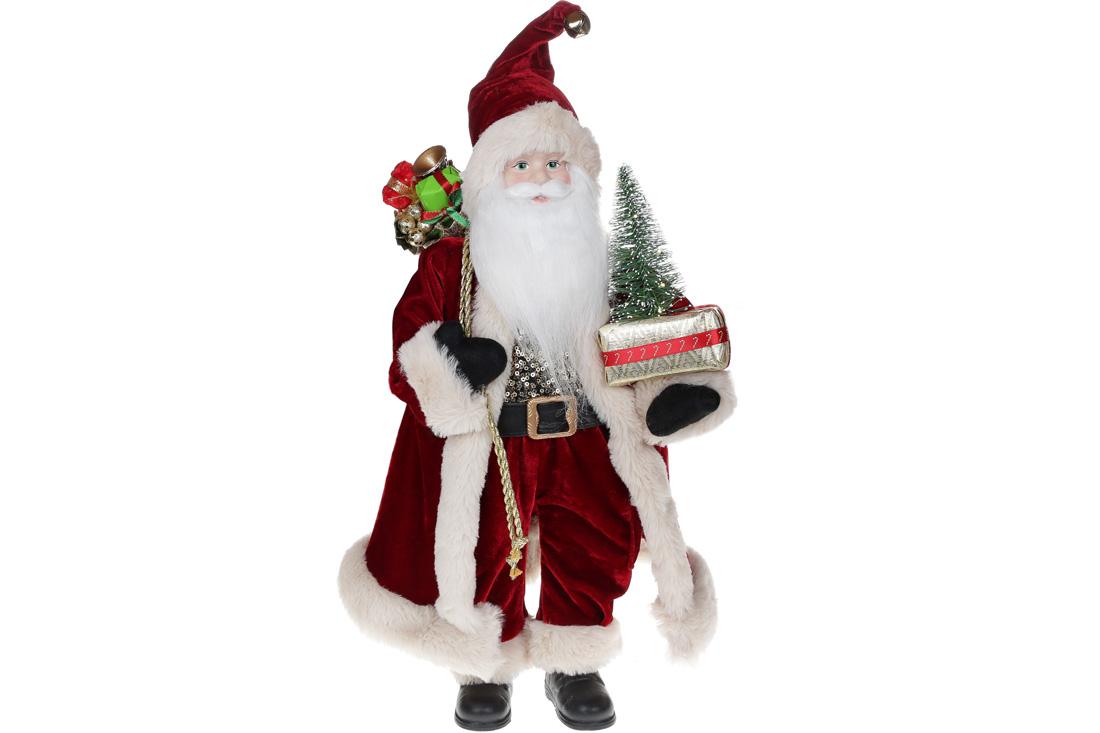 Мягкая игрушка Санта с LED