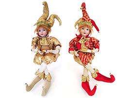 Новогодние куклы, музыкальные игрушки