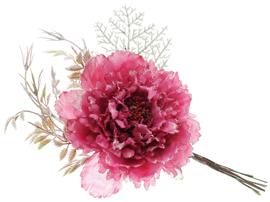 Новогодние цветы, ветки
